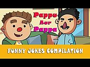 Pappu Aur Pappa | Funny Jokes Compilation for Kids in Hindi | Cartoon Video for Children