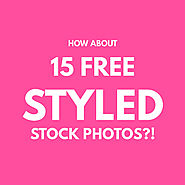 How About 15 Free Styled Stock Photos?!