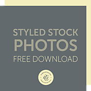 Styled Stock Photos for Blogs & Social Media - free download