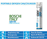 Oxygen in a Can: Opt For Breathing Pure Oxygen - OXY99