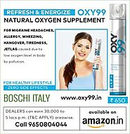 Buy Oxygen Cans: Breathe Adequate Oxygen - OXY99