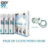Oxygen Cans: Best for Treating Respiratory Disorders - OXY99