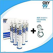 Oxygen Cans: Effective For Getting Instant Oxygen - OXY99