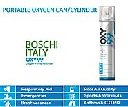 Oxygen Cans: Use for Amazing Benefits - OXY99