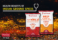 Health benefits of Indian Ground Spices