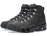Nike Air Jordan Men's 9 Retro Anthracite Basketball Shoe