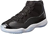 Nike Air Jordan 11 Retro Mens Hi Top Basketball Shoes