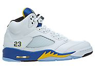 "Men's Nike Air Jordan 5 Retro ""Laney"" Basketball Shoes"