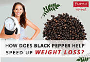 Benefits of Black Pepper in Losing Weight | Satvam Nutrifoods