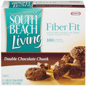 South Beach Living Fiber Fit Double Chocolate Chunk Cookies
