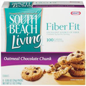 South Beach Living Fiber Fit Oatmeal Chocolate Chunk Cookies