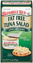Bumble Bee Fat Free Tuna Salad Kit