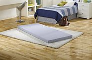 Simmons Beautysleep Siesta Twin Memory Foam Guest Roll-Up Mattress