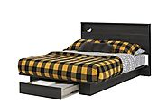 South Shore Holland Platform Bed