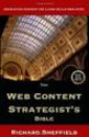 The Web Content Strategist's Bible: Richard Sheffield