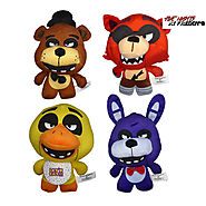 Five Nights at Freddy Plush Toys Bonnie Chica Foxy Freddy Buy Now!