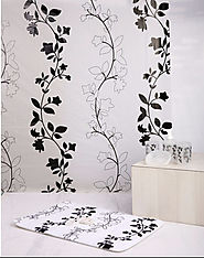 Skipper Home Fashions Introduces the Exclusive Black Branches Bathroom Set