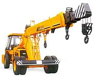Crane Services in Bommanahalli, Bangalore, Earth movers in electronic city - JCB - S.B.S. Crane Service
