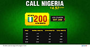 Make Cheap International Calls to Nigeria With Amantel. No need of physical calling card and phone cards.