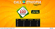 Make Cheap International Calls To Ethiopia With Amantel. No need of physical calling card and phone cards.