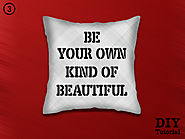 Quoted Pillow Covers – Online Cushion Covers DIY Tutorial