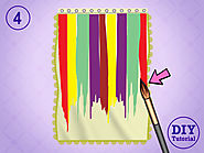 Colorful Shower Curtain – Online Curtain Store DIY Tutorial