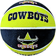 Cowboys NRL Supporter Basketball - North Queensland, Australia