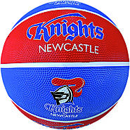 Knights NRL Supporter Basketball - Newcastle, Australia