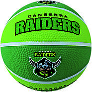 Raiders NRL Supporter Basketball - Canberra, Australia