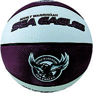 Sea Eagles NRL Supporter Basketball - Warringah, Australia