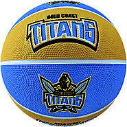 Titans NRL Supporter Basketball - Gold Coast Queensland, Australia