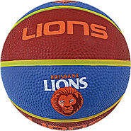 Brisbane Lions AFL Basketball Skills Training & Game Ball