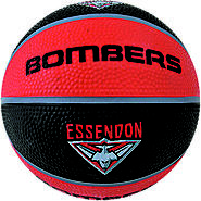 Essendon Bombers AFL Basketball for Game and Dribbling Practice