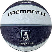 Fremantle Dockers AFL Basketball Game and Practice Ball