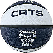 Geelong Cats AFL Basketball for Street and Small Tournament