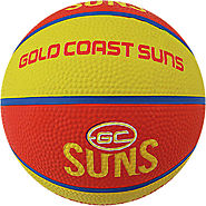 Gold Coast Suns AFL Basketball Training and Game Ball