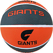 Greater Western Sydney Giants AFL Basketball for Practice & Street Game