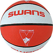 Sydney Swans AFL Basketball Training and Street Game Ball