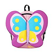 Kids Small Cute Zoo Butterfly Backpack Kindergarten Preschool Toys Backpack for Boys Girls Toddlers