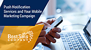 Push Notification Services and Your Mobile Marketing Campaign
