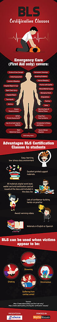 Advantages of BLS Certification Classes - Infographic