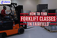 How to Find Forklift Classes in Fairfield