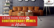 Living Room Ideas for Contemporary Homes in Houston