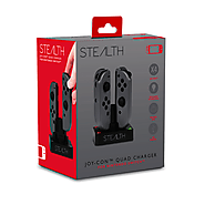 Stealth Joy Con Quad Charger
