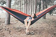 The Most Comfortable Parachute Hammock