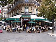 Café les 2 magots in Paris