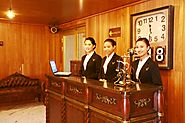 Friendly Staffs at Vintage Luxury Yacht Hotel