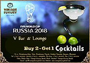 Special offer from V-Bar and Lounge