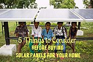 Solar Panels for Home : 5 Point Smart Checklist - SunSynthesis Blog