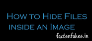 How to Hide Files in an Image in Windows